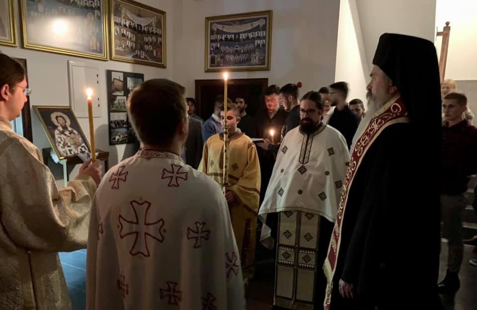 U Bogosloviji u Prizrenu služena liturgija u slavu Svetog Save
