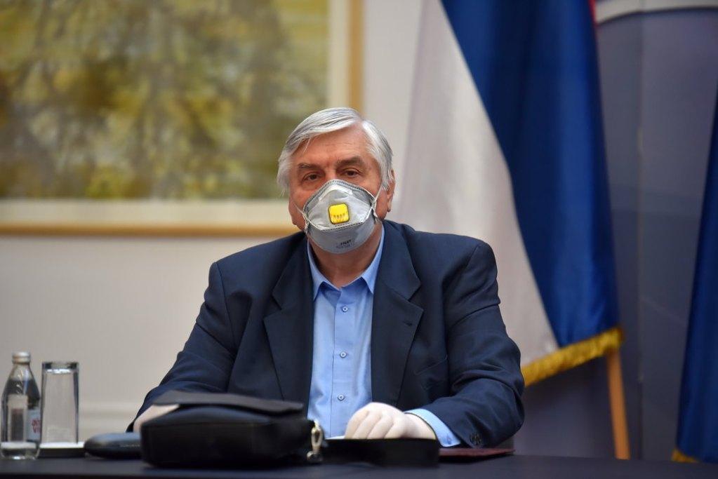 Tiodorović: Zaravnjenje krive oko 3. ili 4. decembra