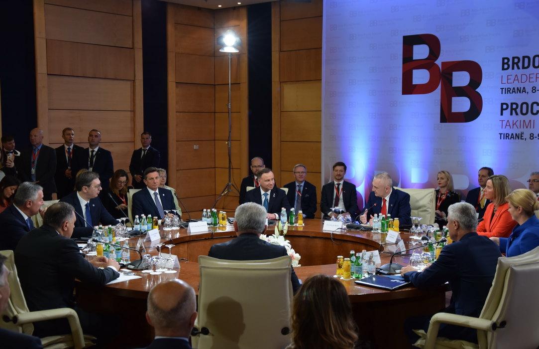 Počeo sastanak lidera procesa Brdo-Brioni