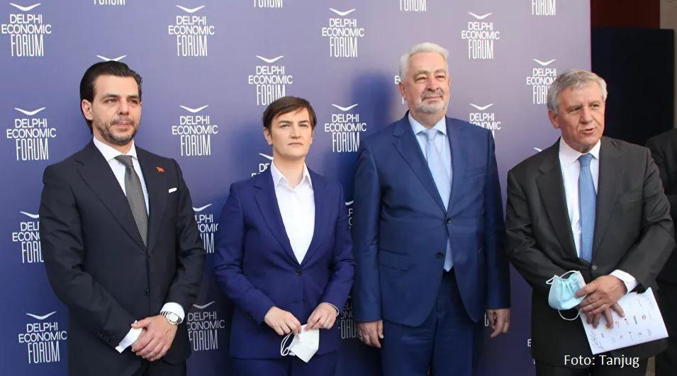 Krivokapić i Brnabićeva: Novim putem u cilju učvršćivanja odnosa