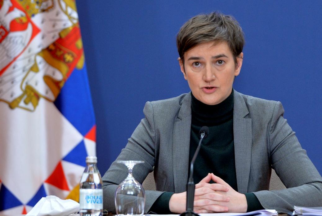 Brnabić: Tužno, važan i tonalitet naših izjava o Crnoj Gori