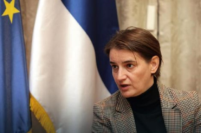 Brnabić sa ruskim ministrom o vakcini