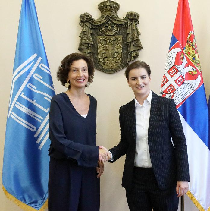 Brnabićeva i Azule: Kultura će i u budućnosti biti važna za razvoj