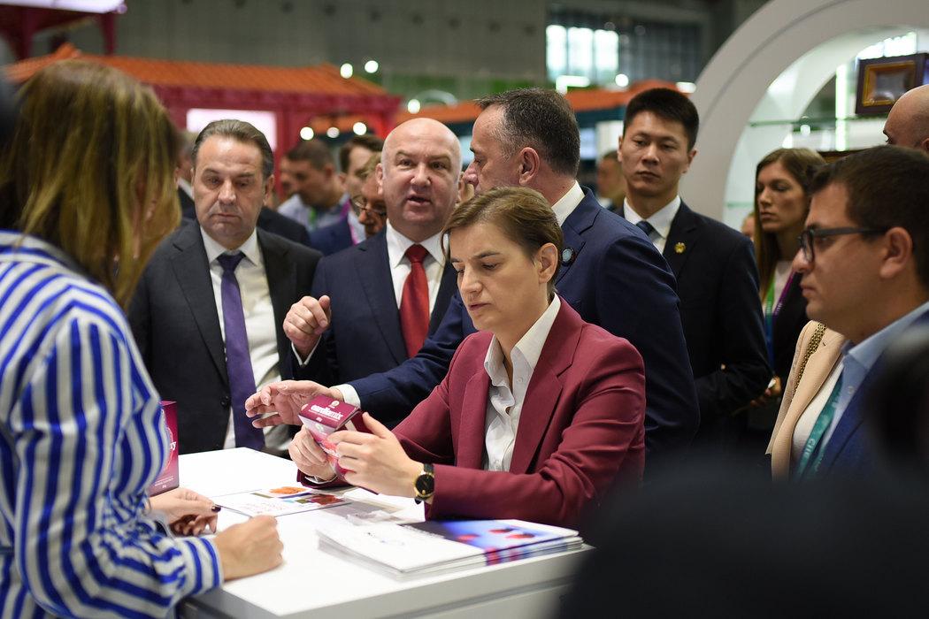 Brnabić: Očekujem više investicija posle posete Kini