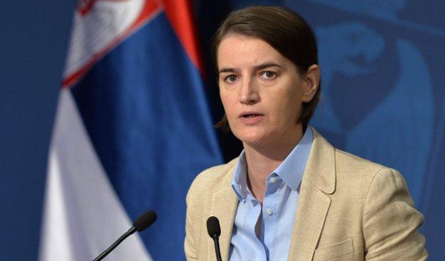 Brnabić: Vlada Srbije podržava Srpsku listu