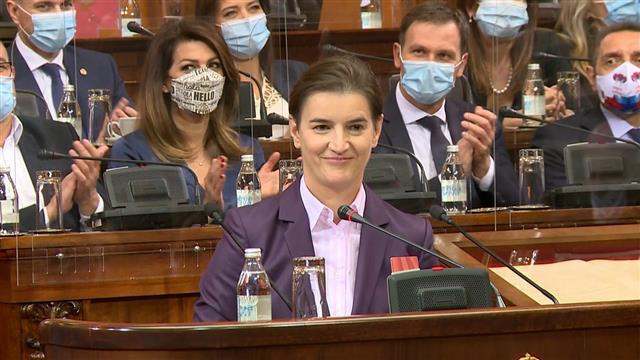 Brnabić: O Stefanoviću, Lončaru i Obradovićevoj na organima SNS-a