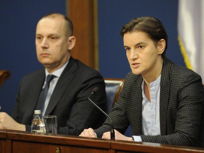 Brnabić i Lončar sutra u Novom Pazaru zbog situacije sa koronavirusom