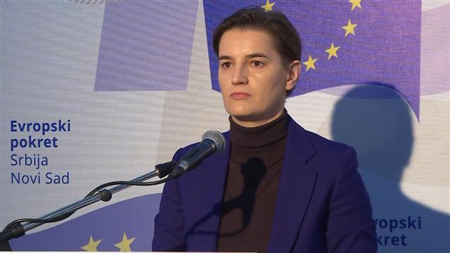 Brnabić: Srbija pripada Evropi