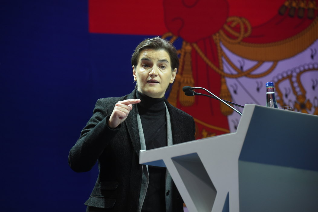 Brnabić: Ne odustajemo od borbe za bogatiju i pristojniju Srbiju