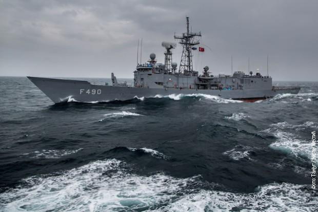 Tenzije u Lamanšu, britanski brod patrolira oko ostrva Džerzi