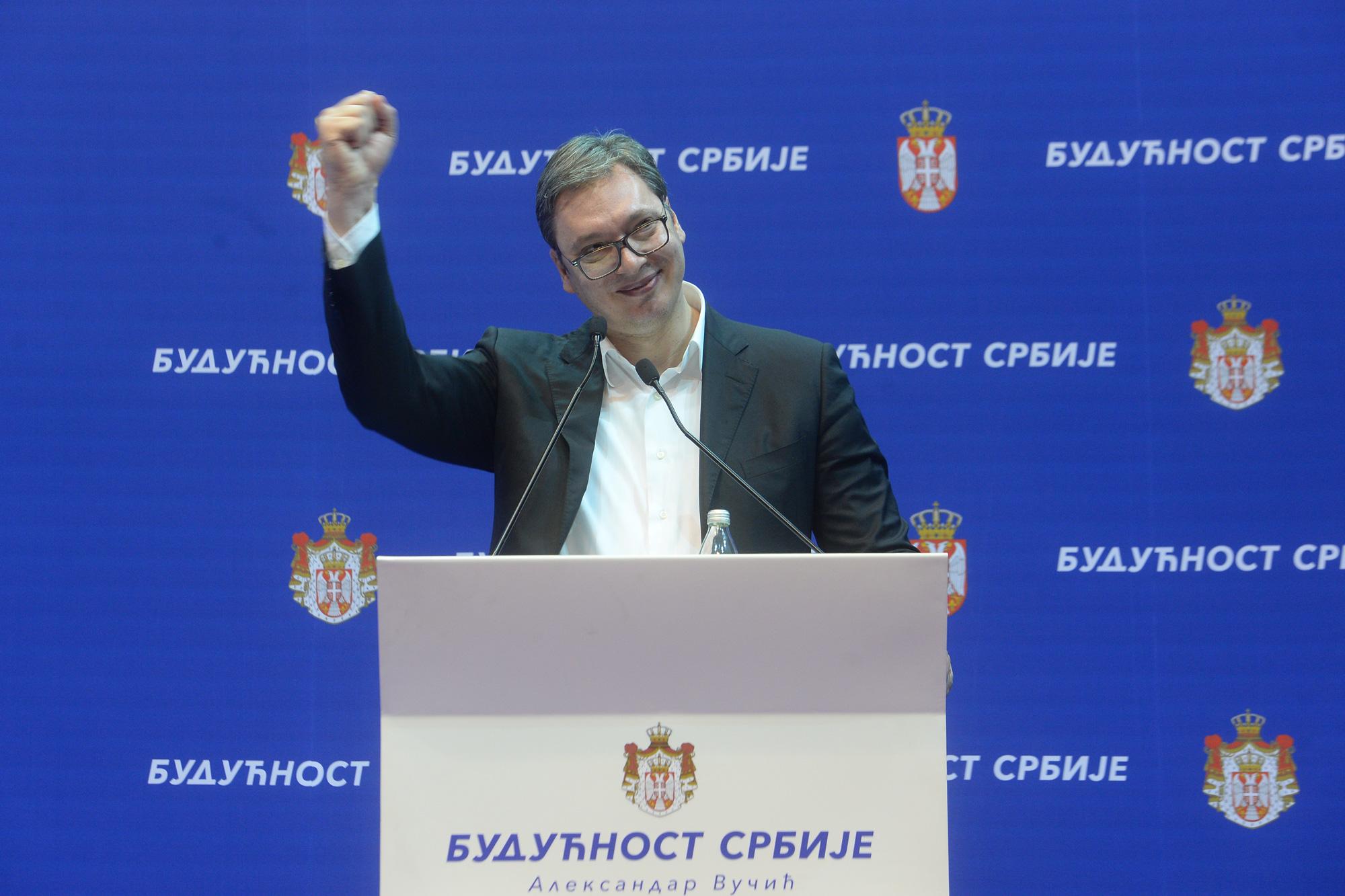 Vučić sutra u kampanji