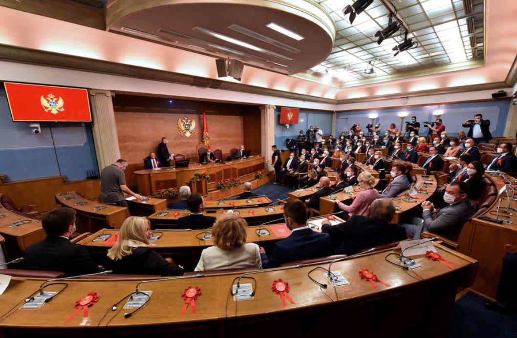 Skupština Crne Gore počela sa gotovo četiri sata zakašnjenja