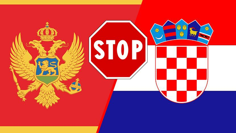 Hrvatska neće dopustiti državljanima Crne Gore ulazak u Hrvatsku
