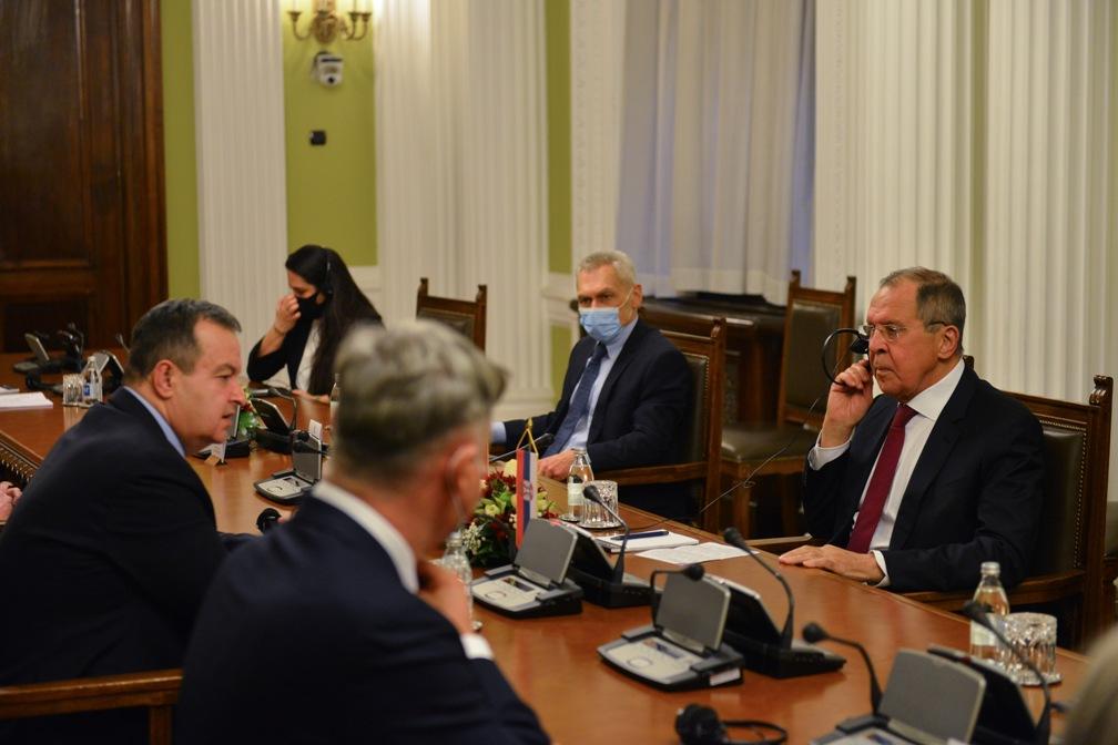 Lavrov Dačiću: Srbija uvek može računati na podršku Rusije