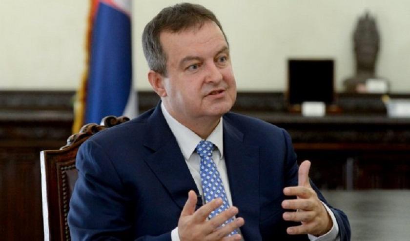 Dačić: Krivična prijava protiv predsednika Srbije  još jedna prljava igra Prištine
