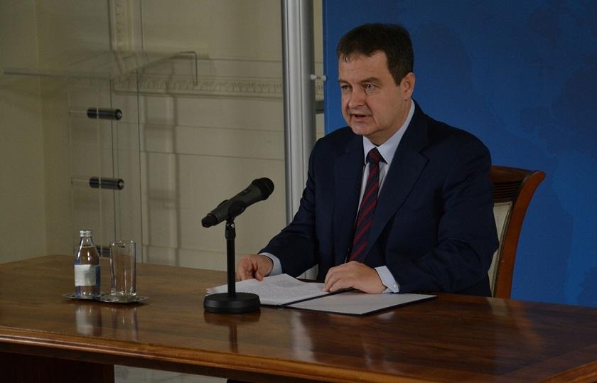 Dačić na Vojnoj akademiji o ulozi diplomatije