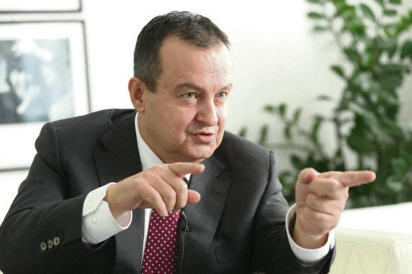 Dačić: Izostanak reakcije na najave Albanije vrhunac licemerja