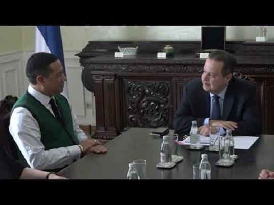 Dačić sa počasnim konzulom Srbije na Madagaskaru