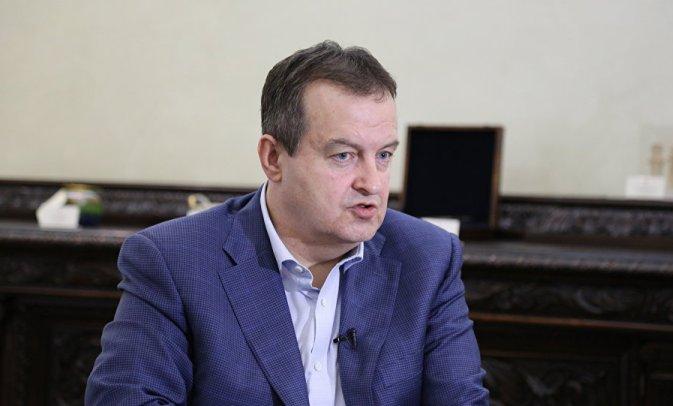 Dačić: Izbori bi okončali proteste opozicije