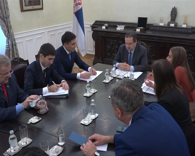 Dačić sa prvim ambasadorom Kazahstana u Beogradu