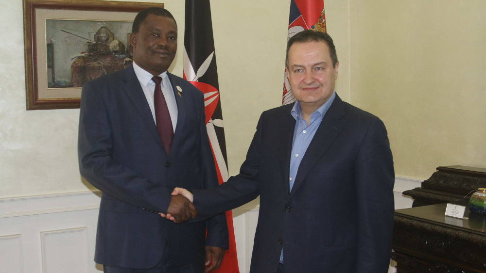 Dačić s ministrom spoljnih poslova Kenije