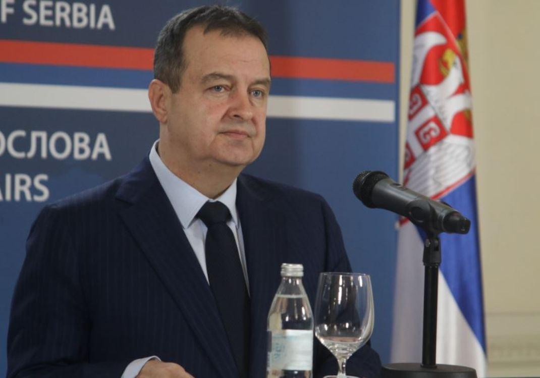 Dačić: Ne prihvatamo potez Prištine, dijalog je na respiratoru