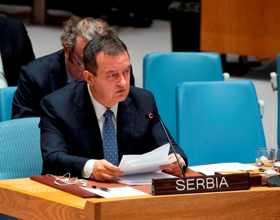 Dačić:Ne povlačimo jednostrane poteze,ukinuti takse pa dijalog