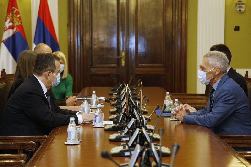 Lavrov u čestitki Dačiću: Uspeli smo da postignemo mnogo