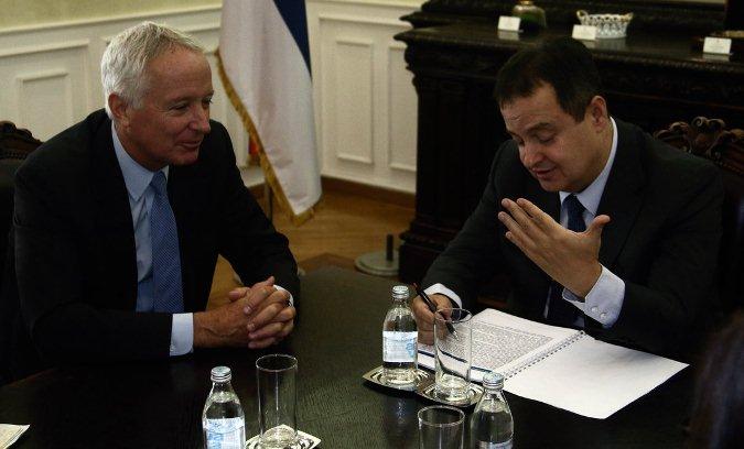 Dačić sa Manterom o regionalnom miru i stabilnosti