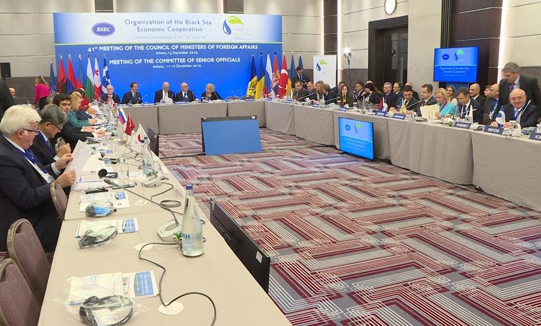 Dačić sa ministrima država crnomorskog regiona u Atini