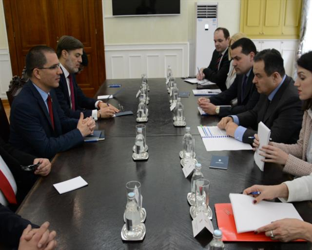 Dačić sa šefom diplomatije Venecuele