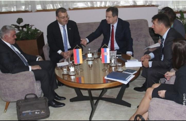 Bilateralni odnosi Srbije i Jermenije dobri i prijateljski