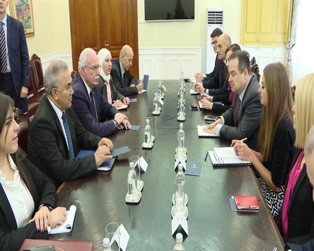 Srbija i Palestina se podržavaju u međunarodnim forumima