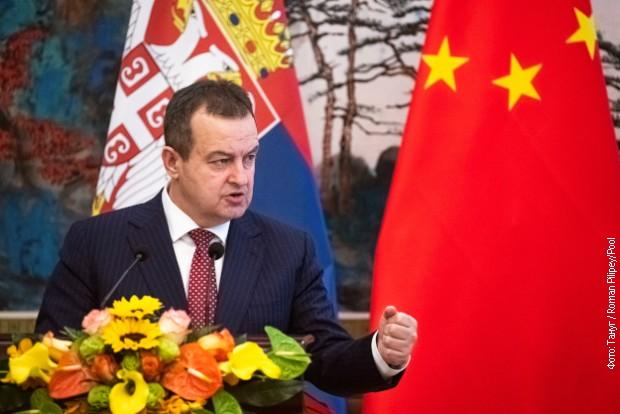 Dačić za KMR: Srbija je najveći prijatelj Kine u Evropi