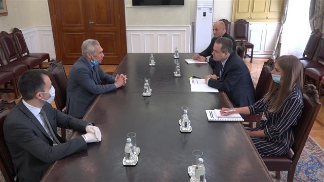 Dačić i Bocan-Harčenko o saradnji dve zemlje, sednici Saveta bezbednosti UN