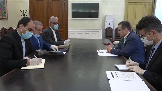 Dačić i ambasador Irana izrazili nadu za poboljšanjem situacije i nastavkom unapređenja saradnje