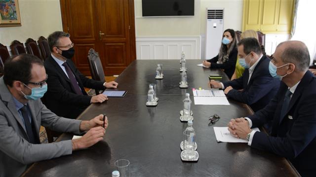 Dačić razgovarao sa novim ambasadorom Slovenije