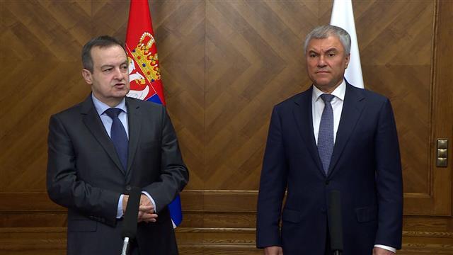 Dačić zahvalio Rusiji, Srbija se neće pridruži sankcijama