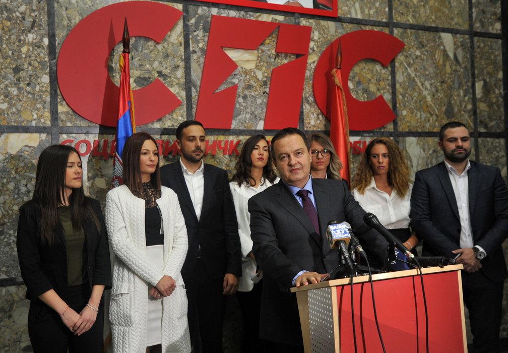 SPS: Dačić ne krši Ustav iznoseći moguća rešenja za KiM