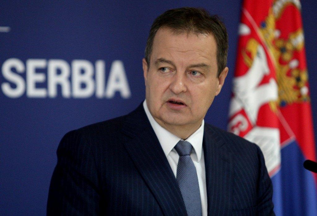 Dačić: Srbija se nikome neće izvinjavati što je osudila krivce