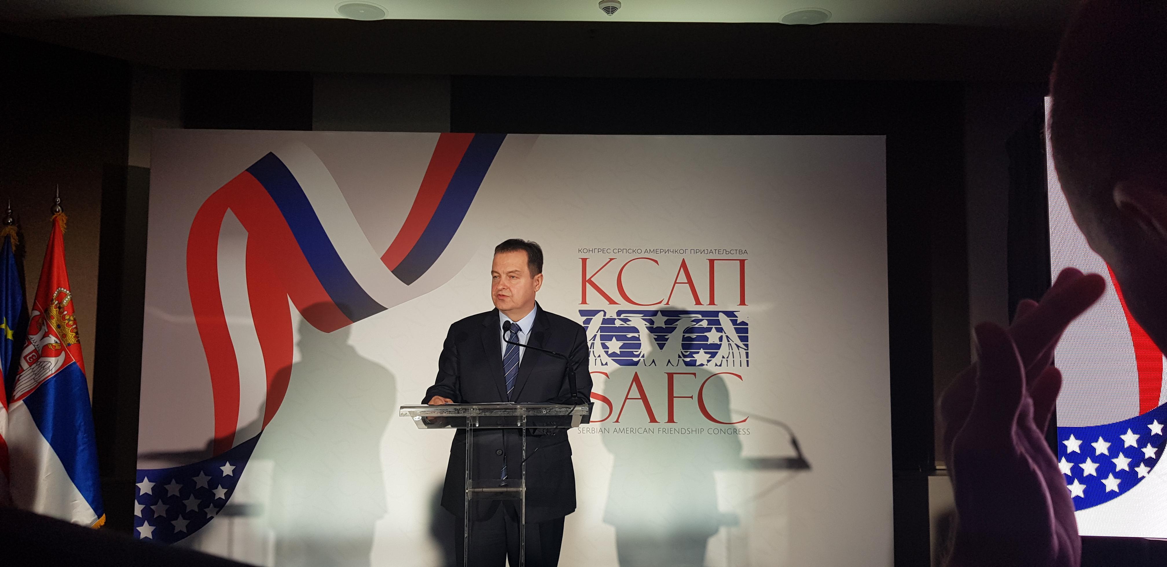 Dačić: Odnosi Srbije i SAD imaju dugu tradiciju i bogatu istoriju i karakteriše ih složena dinamika
