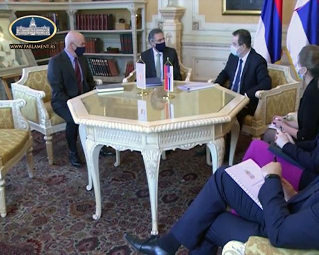 Dačić: Odlično razvijeni odnosi Srbije i Kipra