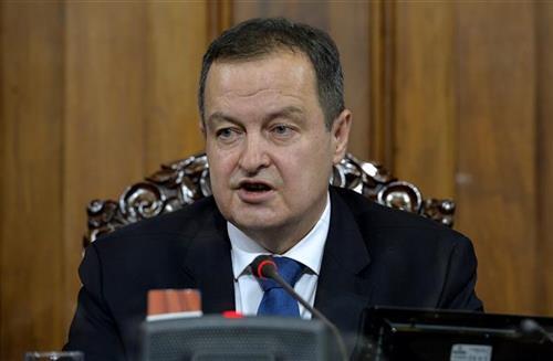 Dačić:Posle budžeta, s predstavnicima EP o međustranačkom dijalogu