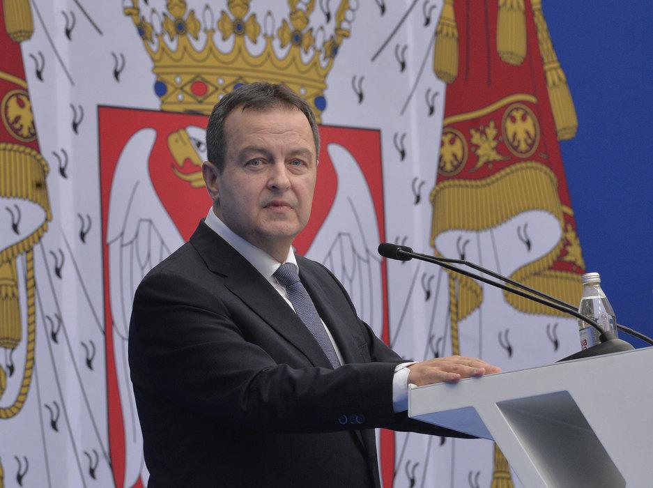 Dačić: Zahtev Palmera i Zapada neprincipijelan