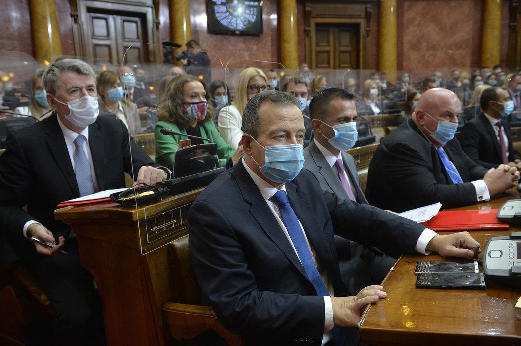 Dačić izabran za novog predsednika parlamenta