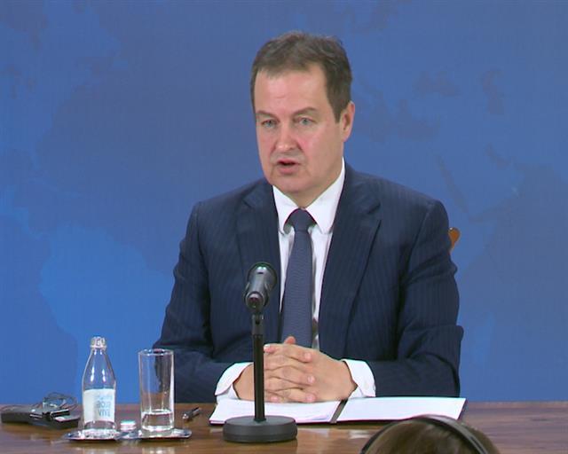 Dačić: U toku je globalni rat za vakcinu, Srbija u dobroj poziciji