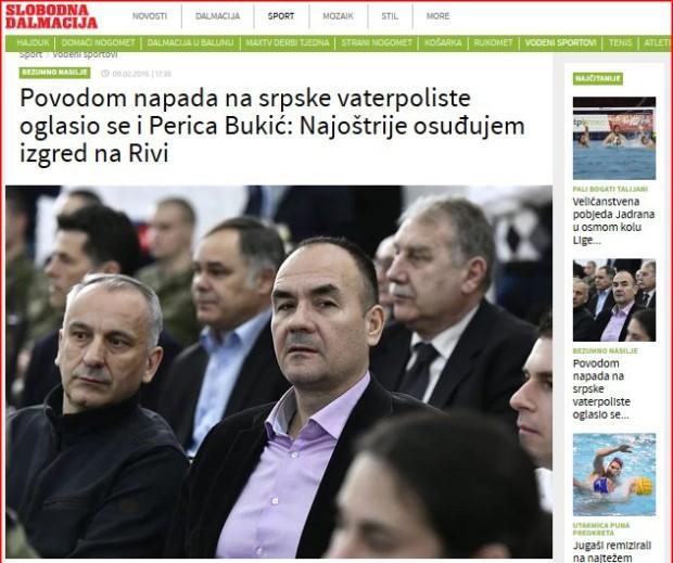 Perica Bukić osudio napad na vaterpoliste, reaguju i hrvatski mediji