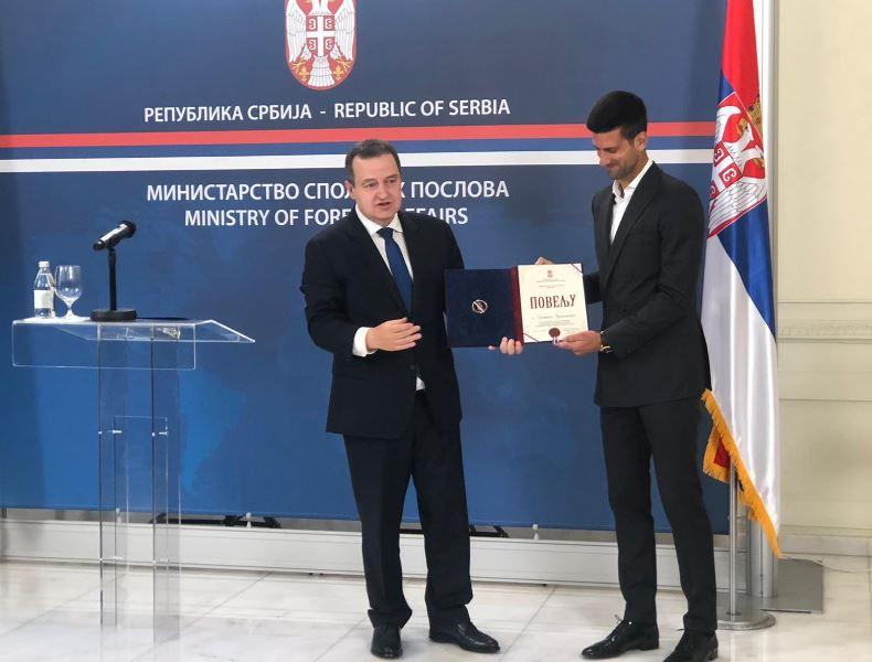 Đoković: Nastaviću da volim Srbiju i poštujem druge narode