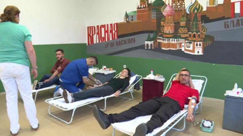 Akcija dobrovoljnog davanja krvi uprkos koroni