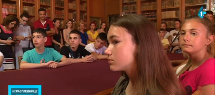 Deca iz Leposavića, Leška i Sočanice u poseti Novom Sadu (video)